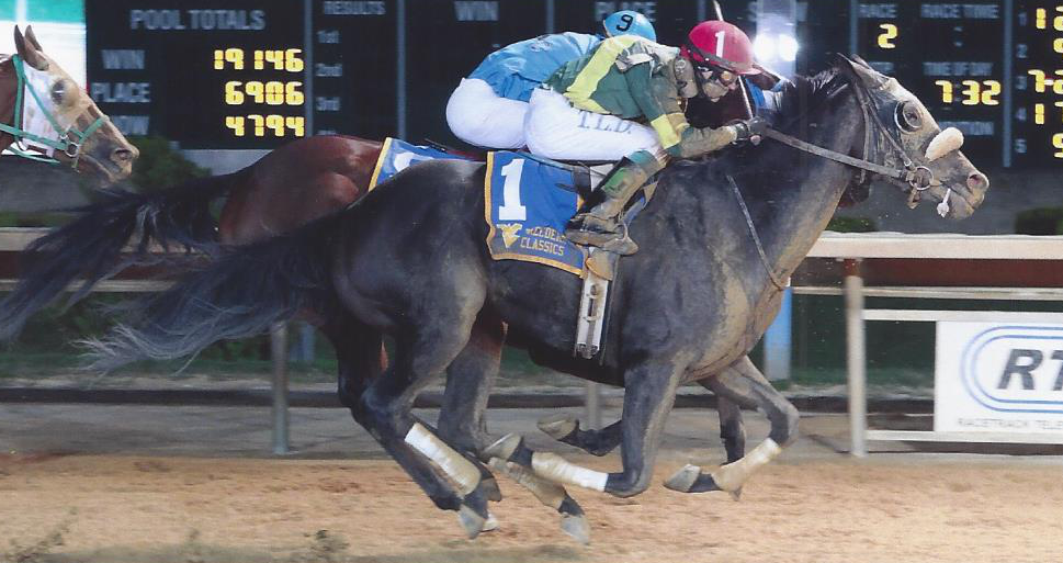 Upsets spice up West Virginia Breeders Classics night